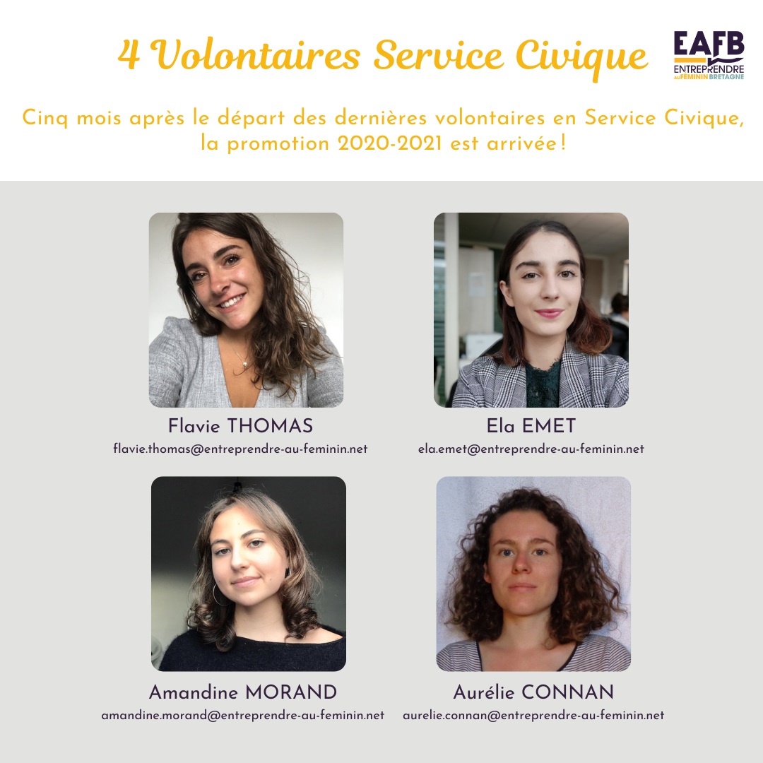 Volontaires service civique
